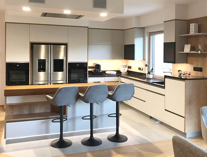 Foto einer Küchenzeile