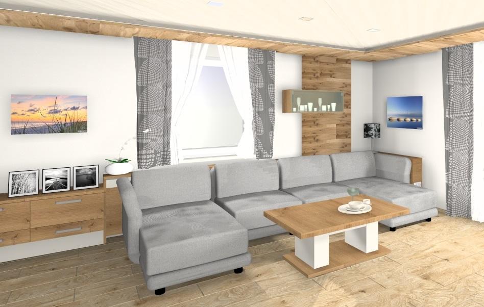 3D Planung eines Wohnzimmers