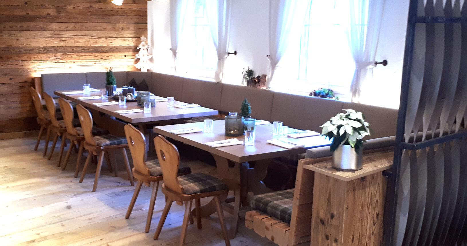 eichenheim Kitzbuehl Gastraum